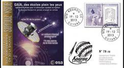 """VS06L : 2013 - FDC Kourou """"SOYOUZ Vol N°06 - télescope spatial européen Gaïa"""""""