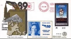 """PE191 : 1989 - FDC Parlement européen """"Élections Européennes / SM BEATRIX"""