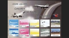 CO-E4E : 2005 Feuillet L'épopée Concorde