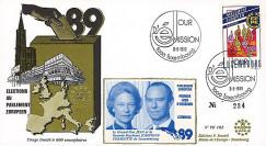 """PE182 : 1989 - FDC Parlement européen """"Élections Européennes / JEAN"""