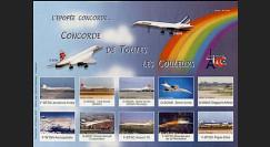 CO-E4ND : 2005 Feuillet L'épopée Concorde