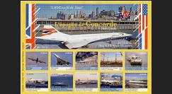 CO-E5ND : 2005 - Feuillet L'épopée Concorde
