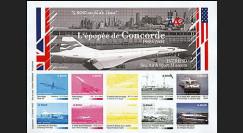 CO-E5E : 2005 - Feuillet L'épopée Concorde