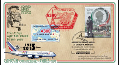 "A380-240T2 : 2013 - FFC MEXIQUE ""A380 Air France - 1er vol AF651 Cancún-Paris"""