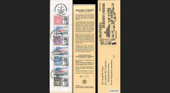 """DEB94-C2 : 1994 - Carnet Porte-timbres privé """"50 ans Débarquement en Normandie"""""""