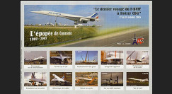 CO-E6ND : 2005 - Feuillet L'épopée de Concorde
