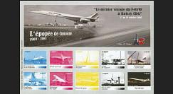 CO-E6E : 2005 - Feuillet L'épopée de Concorde
