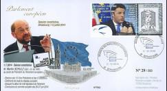 """PE662 : 07-2014 - FDC Parlement européen """"Election Président du Parlement M. SCHULZ"""""""