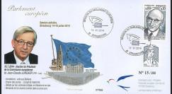 """PE663 : 07-2014 - FDC Parlement européen """"Election Président Commission M. JUNCKER"""""""