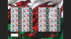 """DEB14-08F : 2014 - Feuillet 20 TPP ROYAUME-UNI """"DE GAULLE - 70 ans D-DAY / Pays Galles"""""""