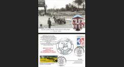 "DEB14-10A : 2014 - CP FRANCE ""70 ans D-DAY : Pegasus Bridge - Commando KIEFFER"""