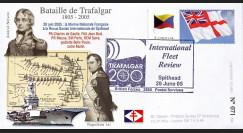 """TRA05-2 : 2005 - FDC """"200 ans Bataille de Trafalgar"""" - oblit. Poste aux Armées type2"""