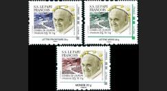 """CE65V-1/3N : 25.11.2014 - 3 TPP France """"Visite du Pape François au Conseil de l'Europe"""""""