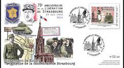 """LIB14-STR3 : 2014 - FDC 1er Jour """"de Gaulle - Leclerc"""