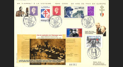 FR05-VICT1 : 2005 - Appel à la Victoire - 60 ans de Paix en Europe