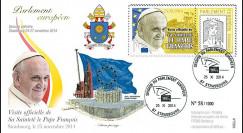 """PE666-T2 : 25.11.2014 - FDC Parlement européen """"Visite officielle de S.S. le Pape François"""""""