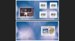 """CE65V-1C : 25.11.2014 - Carnet Collector """"Visite Pape François au Conseil de l'Europe"""""""
