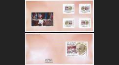 """CE65V-3C : 25.11.2014 - Carnet Collector """"Visite Pape François au Conseil de l'Europe"""""""