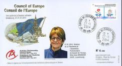 "CE65-IA : 01-2014 - FDC Conseil de l'Europe ""Election Président BRASSEUR"