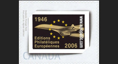 CO-RET22N : 2005 - Timbre personnalisé Concorde-EPE 1946-2006 (Canada)