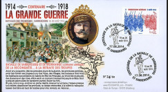 "CENT14-14 : FDC FRANCE ""100 ans Grande Guerre"