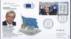 """PE665 : 10-2014 - FDC Parlement européen """"Nouvelle Commission européenne de JUNCKER"""""""