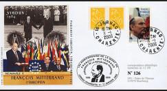 """MITT96-06 : 2006 - FDC France """"10e anniversaire de la mort de François Mitterrand"""""""