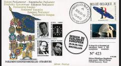 "PE268 : 09-1993 - FDC BELGIQUE Parlement européen ""Sa Majesté ALBERT II"
