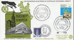 """EPE1L : 1978 - FDC BELGIQUE """"Premières Élections Européennes au Parlement européen"""""""