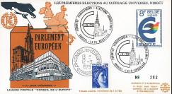 """EP4L-T2 : 1979 - FDC BELGIQUE """"Premières Élections Européennes au Parlement européen"""""""
