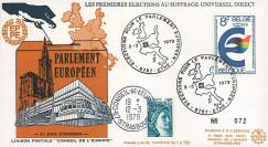 """EP4L-T3 : 1979 - FDC BELGIQUE """"Premières Élections Européennes au Parlement européen"""""""