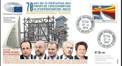"""PE674 : 04-2015 - FDC Parlement européen """"70 ans Libération des Camps de Concentration"""