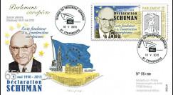 """PE680 : 9-5-2015 - FDC Parlement européen """"65e anniversaire de la Déclaration Schuman"""""""