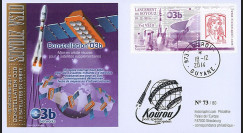"VS10L : 2014 - FDC KOUROU ""Fusée SOYOUZ - Vol 10 / Constellation O3b Networks"""
