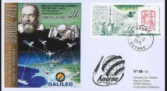 "VS11L : 2015 - FDC KOUROU ""Fusée SOYOUZ - Vol n°11 / Constellation GALILEO - ADAM"""