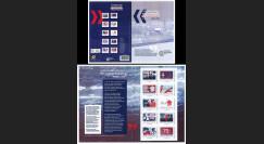 """DG15-1C : 2015 - Carnet Collector de 10 timbres perso """"75 ans Appel 18 juin - de Gaulle"""""""