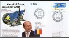 CE57-IB : 2006 - Visite et discours du Pdt de Roumanie M. BASESCU