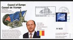 CE57-IC : 2006 - Visite et discours du Pdt de Roumanie M. BASESCU