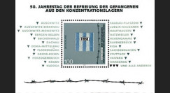 """PE302SP-B : Allemagne bloc """"50e anniv. de la libération des prisonniers des camps"""""""