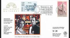 """PE373 : 1998 - FDC Session PE """"Visite officielle du Roi d'Espagne Juan Carlos 1er"""""""