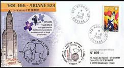 V166L type1 : 2005 - Ariane Vol 166 plus gros satellite télécom. THAICOM 4