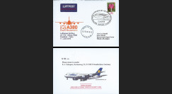 """A380-115 : 2010 - FFC ALLEMAGNE à bord """"A380 Lufthansa - 1er Vol Frankfurt-Tokyo"""""""
