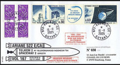 V167L type1 : 2005 - Ariane Vol 167 satellites TELKOM 2 et SPACEWAY 2