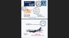 "A380-128 : 2011 - FFC USA à bord ""A380 Lufthansa - 1er Vol New York-Frankfurt"""