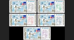 """PE692-PT1/5 : Série 5 Marianne """"40 ans 1er vol CONCORDE Paris-Rio et Londres-Bahraïn"""""""
