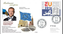 """PE693 : 02-2016 - FDC Parlement européen """"Visite M. Toomas Hendrik ILVES"""