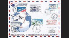 "CO-RET59 : 2016 - Maxi FDC FRANCE-SENEGAL-BRESIL ""CONCORDE - 40 ans 1er vol Paris-Rio"""