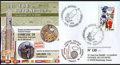 V168L type2 : 2005 - Ariane Vol 168 satellites SYRACUSE 3A et GALAXY 15