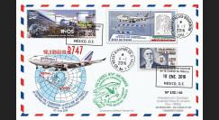 """B747-AF439T1 : 2016 - FFC MEXIQUE-FRANCE """"Boeing 747 AF - Dernier Vol Mexico-Paris"""""""