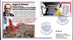 "PE690 : 2015 - FDC FRANCE ""Attentats de Paris - Convocation du Congrès du Parlement"""